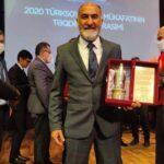 ÇULCUOĞLU AZERBAYCAN'DA ÖDÜL ALDI